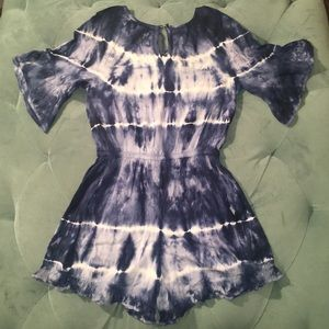 Justice One Pieces - Tie-Dye Ruffle Romper